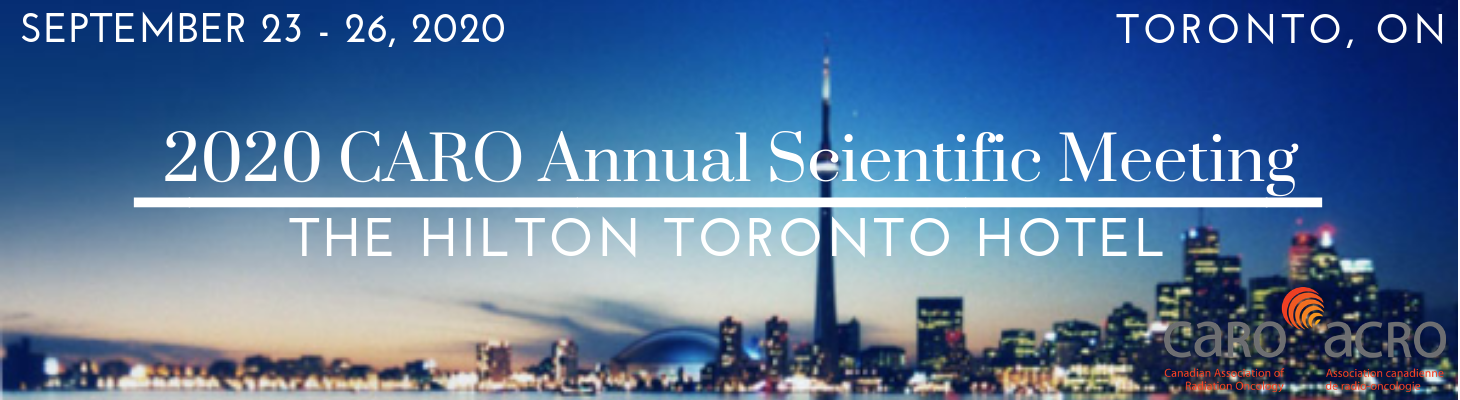 Future Annual Scientific Meetings • Canadian Association of